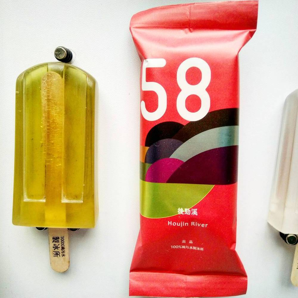 Elsa Yranzo Studio Polluted Water Popsicles